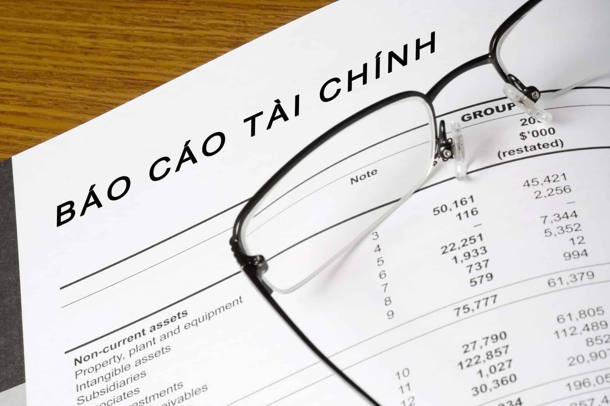 Hướng dẫn làm báo cáo tài chính