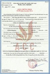 Mẫu giấy phép an ninh trật tự