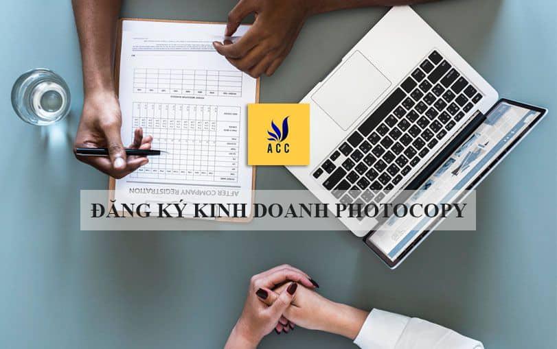 Đăng ký kinh doanh photocopy