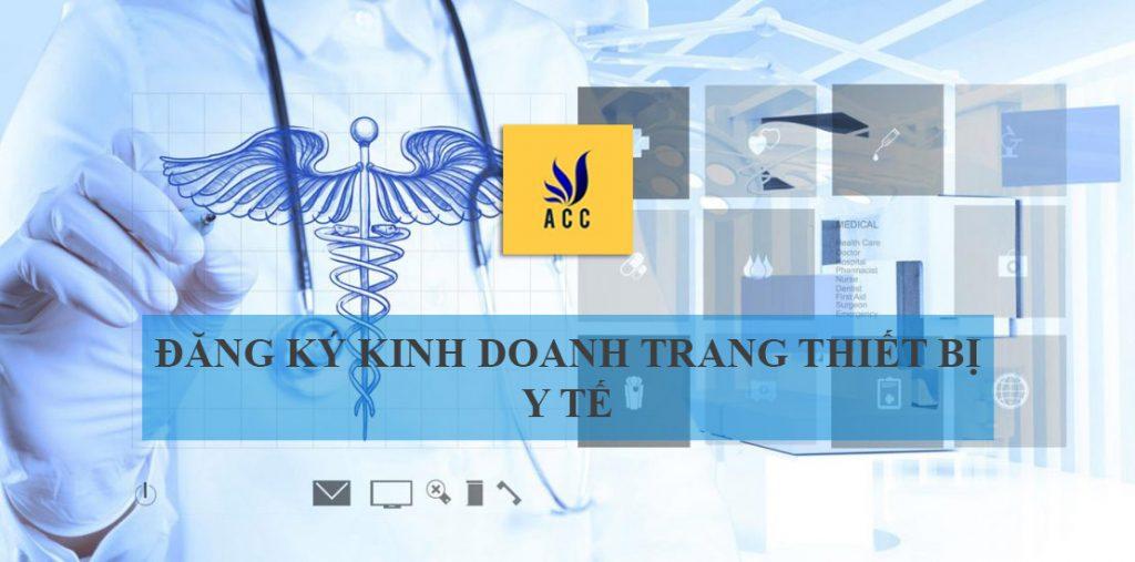 đăng ký kinh doanh trang thiết bị y tế