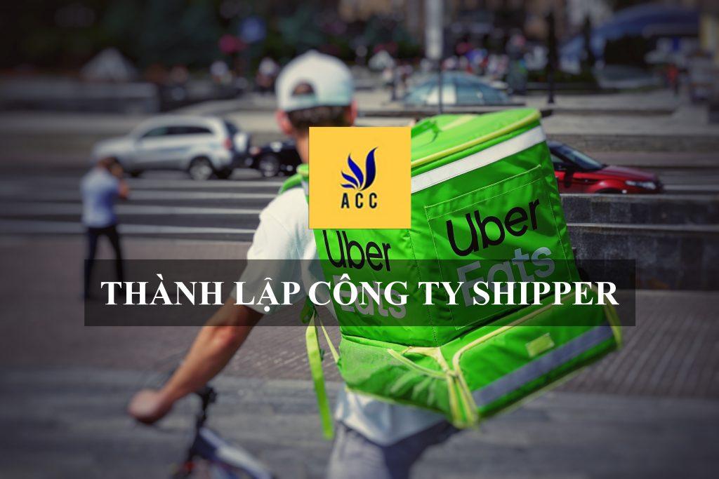 thành lập công ty shipper