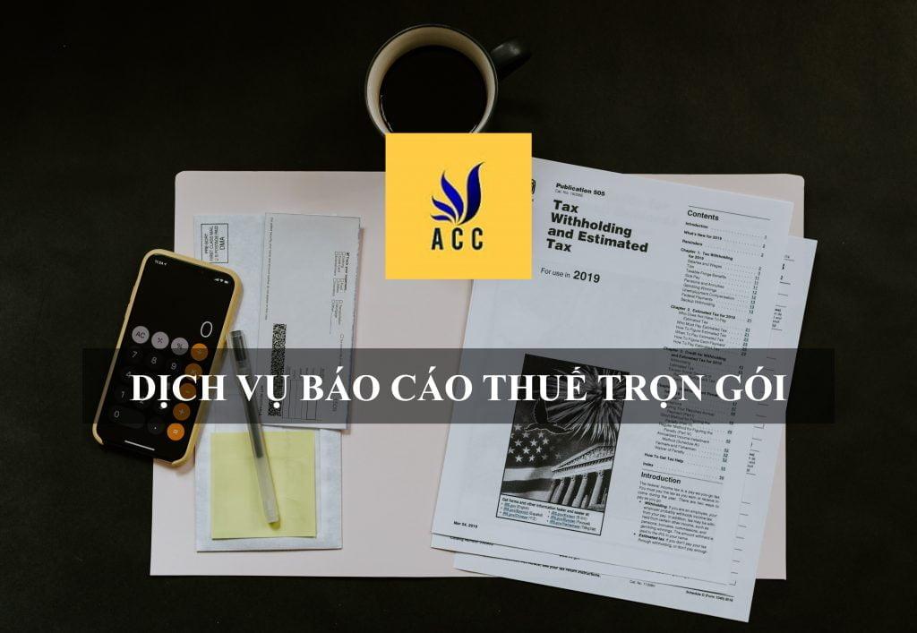 Dịch vụ báo cáo thuế trọn gói