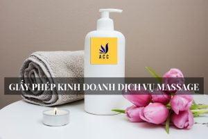 Giấy phép kinh doanh xoa bóp massage