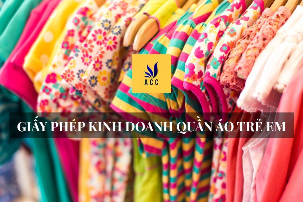 Giấy phép kinh doanh quần áo trẻ em