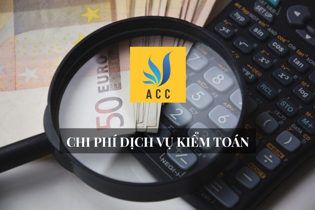 Chi phí dịch vụ kiểm toán