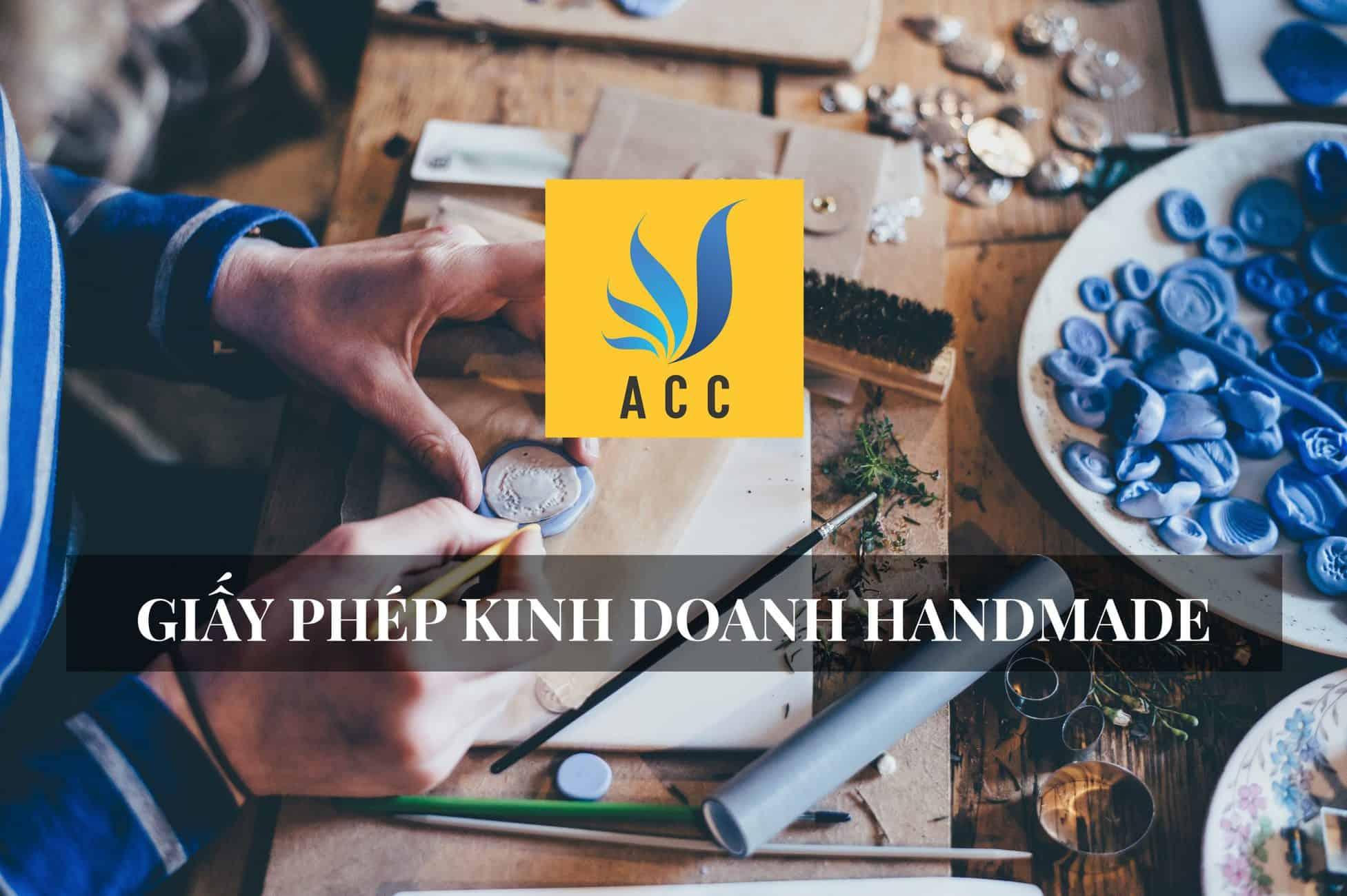 giấy phép kinh doanh handmade