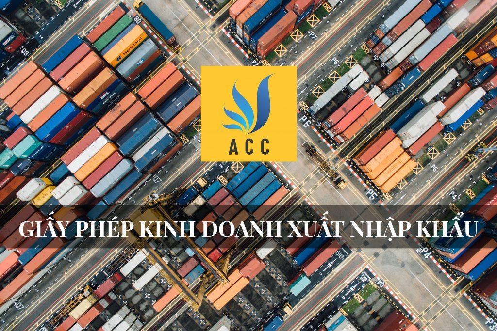 Giấy phép kinh doanh xuất nhập khẩu