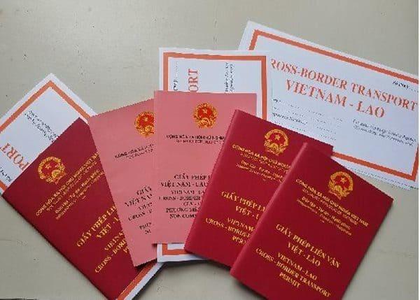 Hình ảnh minh họa về giấy phép liên vận
