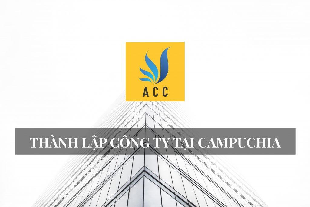 Thành lập công ty tại Campuchia