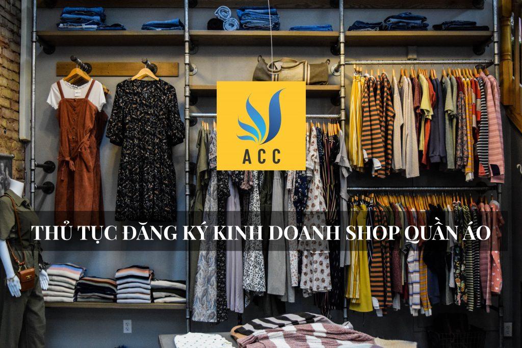 Thủ tục đăng ký kinh doanh shop (cửa hàng) quần áo 2020