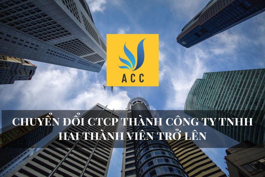 Chuyển đổi CTCP thành công ty TNHH hai thành viên trở lên