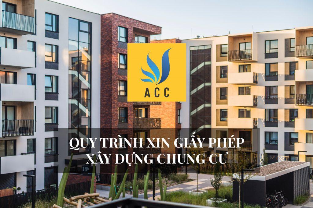 Quy trình xin giấy phép xây dựng chung cư