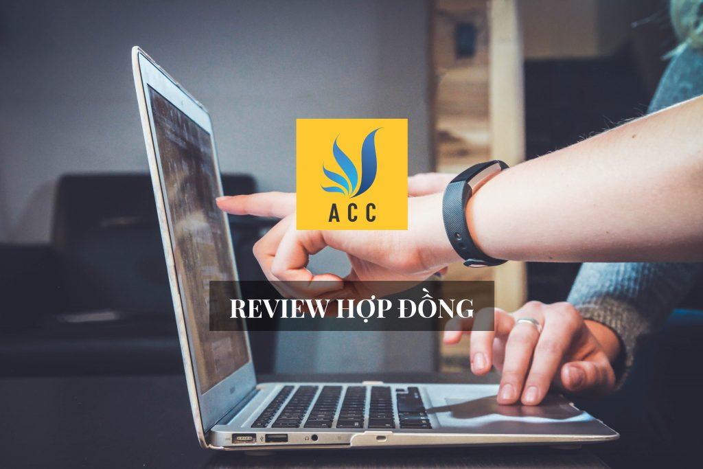 Các vấn đề về review hợp đồng