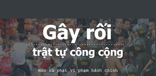 xu phat hanh chinh